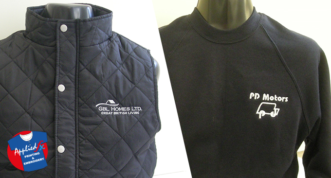 Quilted Gilet and classic sweatshirt